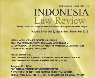 Indeksasi Hein Online terhadap Indonesian Journal of International Law dan Indonesia Law Review