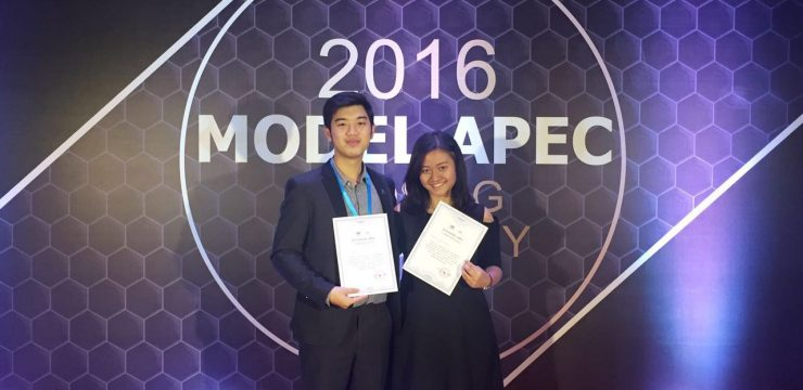 "Indonesia Meraih ""The Best Presentation Award"" dalam Model APEC 2016 di Beijing, China"
