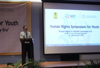 """Human Rights Symposium for Youth  """"Human Rights in ASEAN Comunity Era"""""""