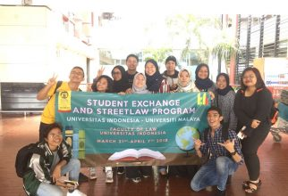 Student Exchange and Street Law Program Faculty of Law Universitas Indonesia