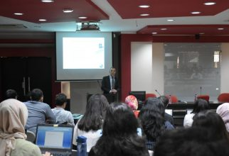 """Guest Lecture on """"Tackling Cyber Crime"""""""