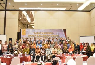 the National Meeting of the Cooperation Agency for the Dean of the Faculty of Law of Universities in Indonesia