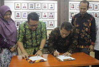 Faculty of Law UI and Faculty of Law Lambung Mangkurat Sign a Cooperation Agreement