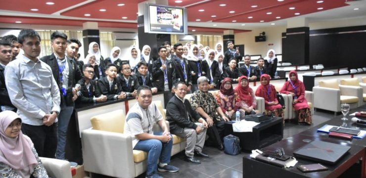 A Visit from 1 Padang Senior High School
