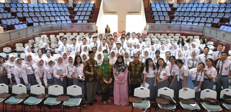 A Visit from SMA 48 Jakarta