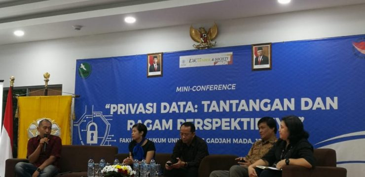 "Dr. Lidwina Inge as Speaker at ""Data Privacy: Challenges and its Variety of Perspectives"" Conference"